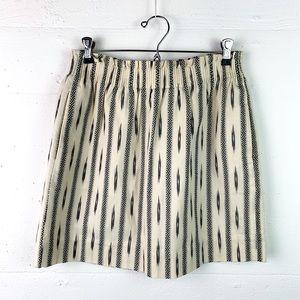 J. Crew skirt sidewalk cotton ikat NWT 4